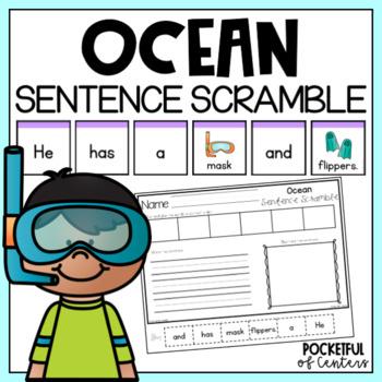 Ocean Sentence Scramble