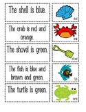Ocean Sentence and Picture Match