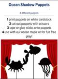 Shadow Puppets Ocean, preschool music and movement