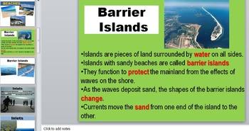 Ocean Shore Zone Unit Powerpoint