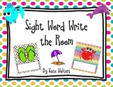 Ocean Sight Word Write the Room {Aligned to the Common Core}