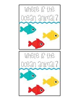 Ocean Spatial Concept Flashcards
