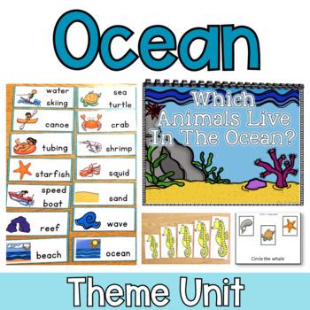 Ocean: Special Ed Thematic Unit