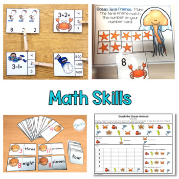 Ocean Thematic Unit For Special Education (Autism Resource)