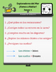 Ocean Student Task and Pairing Cards for Spanish Stem Changing Verbs E>I *Verbos