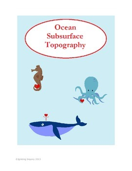 Ocean Subsurface Topography