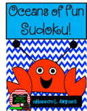 Ocean Sudoku Puzzle Bundle (May, June, Summer Vacation)