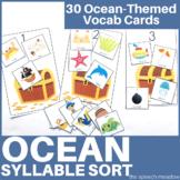 Ocean Syllable Sort Activity