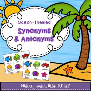 Ocean Synonyms & Antonyms