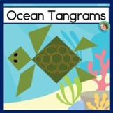 2D Shape Center Ocean Tangram Puzzles