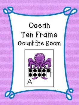 Ocean Ten Frames Count the Room