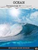 Ocean Terminology & Print Copywork
