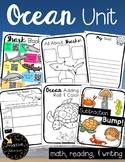 Ocean Activities Thematic Unit for 1st Grade