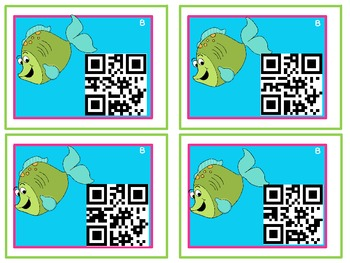 Ocean Theme Addition QR Code (Differentiated & Common Core)