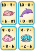 Ocean  Theme - Addition and Subtraction to Ten Flashcards / Games / Activities