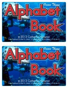 Ocean Theme Alphabet Book - Emergent Reader