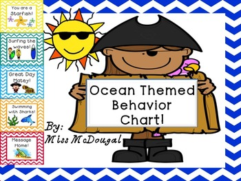 Behavior Chart Ocean Theme