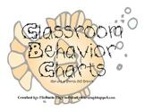 Ocean Theme Behavior Chart White