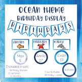 Ocean Theme - Birthday Display