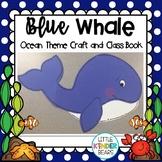 Ocean Blue Whale Summer Craft & Class Book