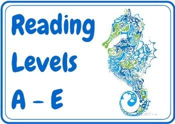 Ocean Theme Book Levels