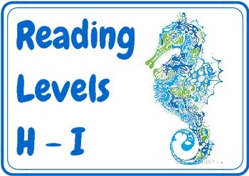 Ocean Theme Book Levels