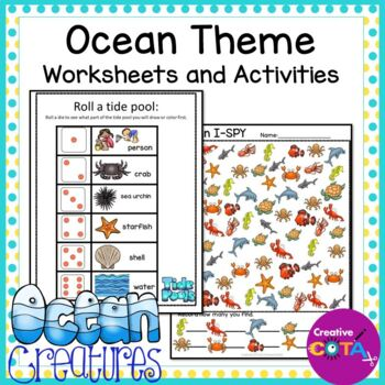 Ocean Theme Differentiated Worksheets and Activities