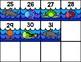 Ocean Theme Calendar Numbers