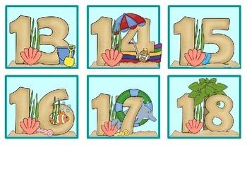 Ocean Theme Calendar