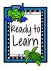 Ocean Theme Classroom Behavior Clip Up Chart