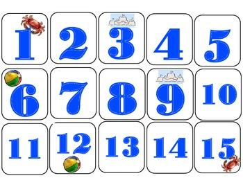 Ocean Calendar Set! Ocean Bulletin Board! Ocean Theme! Ocean Theme Calendar!