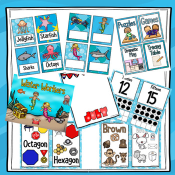 Ocean Theme Classroom Decor Bundle
