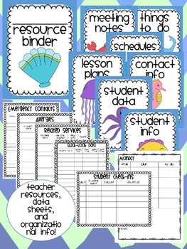 Ocean Theme Classroom {Decor, Classroom Management, & Resources}