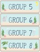 Ocean Theme - Classroom Decor - Group Labels