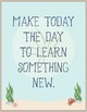 Ocean Theme - Classroom Decor - Motivational Posters FREE