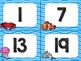 Ocean Theme Classroom Decor: Numbers 1-100
