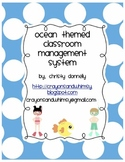 Ocean Theme Classroom Management System