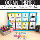 Ocean Theme Classroom Decor Bundle - Under The Sea Classro