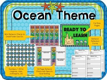Ocean Theme Clip Chart Behavior System