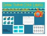 Ocean Theme Clock Labels and Time Practice Pages