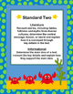 Ocean Theme Common Core Reading Standards Posters for Third Grade