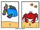 Ocean Theme Counting Mats