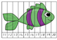 Ocean Theme Counting Puzzles - Teen numbers and counting by 10
