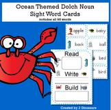 Ocean Theme Dolch Noun Sight Words