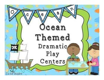 Ocean Theme Dramatic Play Centers
