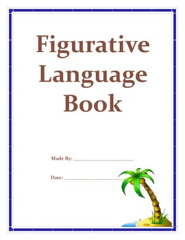 Ocean Theme Figurative Language Book and Test