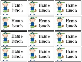 {FREE} Ocean Theme Home Lunch Tags