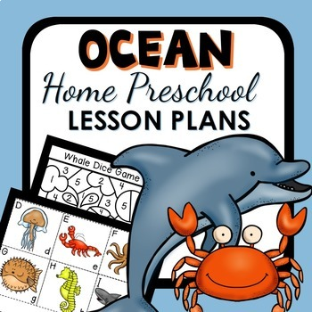 Ocean Theme Home Preschool Lesson Plans