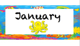 Ocean Theme January Freebie