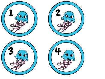 Free Ocean Locker Numbers 1-28